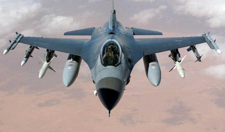 Lockheed Martin Work Begins on Greenville-made F-16 Fighters